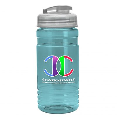 20 oz. UpCycle rPET Bottle USA Flip Top Lid - Digital