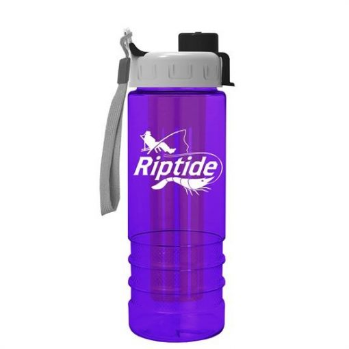 Salute Infuser - 24 oz. Bottle with Quick Snap Lid