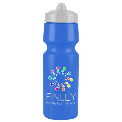 The Mighty Shot - 24. oz. Bike Bottle (Valve Lid) Digital