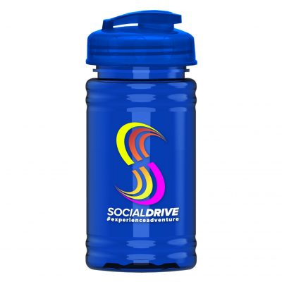 UpCycle - Mini 16 oz. rPet Sports Bottle with USA Flip Lid - Digital