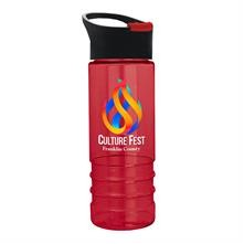Salute2 - 24 oz. Tritan Bottle With Pop-up Sip Lid - Digital
