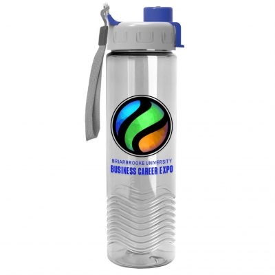 24 oz Tritan Bottle with Quick Snap Lid - Digital