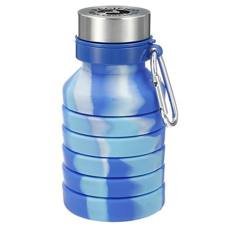 Zigoo Silicone Collapsible Bottle 18oz - Tie Dye