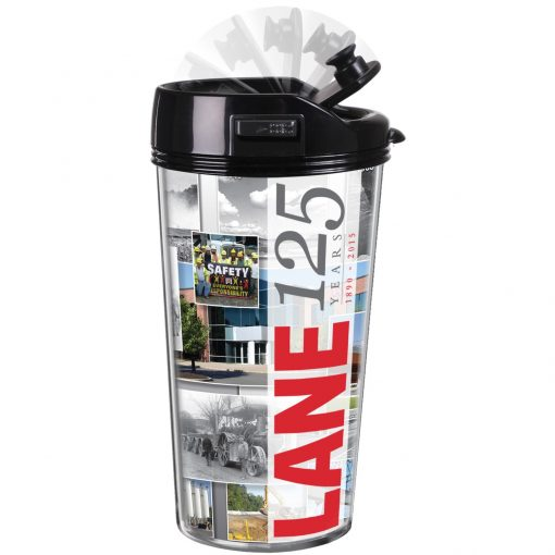 16 Oz. Thermal Traveller™ Robotic Lid Tumbler - Made in the USA