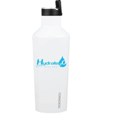 20 Oz. Corkcicle Sport Canteen with Straw