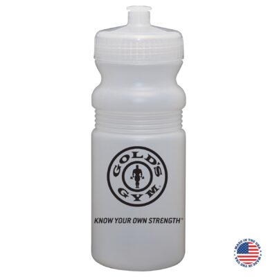 20 Oz. USA-Made Frost Bike Bottle with Push/Pull Lid