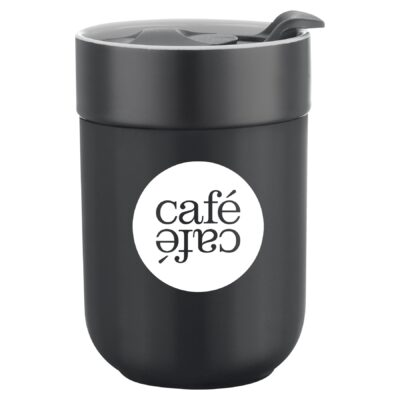 9.5 Oz. Cardigan Ceramic Mug with Silicone Sleeve
